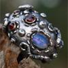 Катманду- кольцо с аметистом
